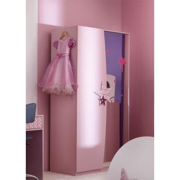 Dvodelna garderobna omara Fairy
