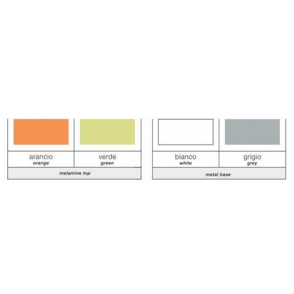 Jedilna miza Dado 110: barve