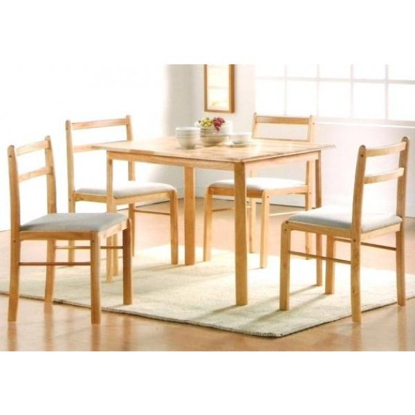 Jedilni set Rubby - miza +4 stoli