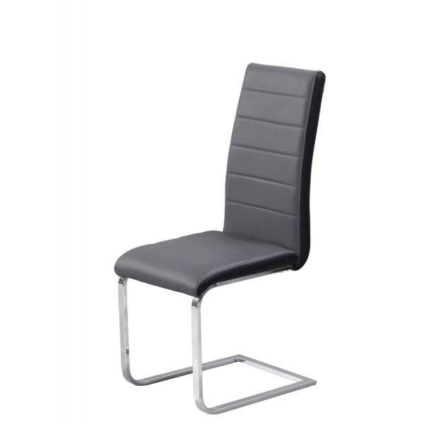 Jedilni stol Triumph (več barv): Siva/Črna
