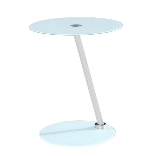 Klubska mizica Matias - bela