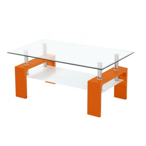 Klubska mizica Intro-Oranžna