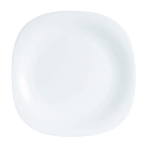 Krožniki Luminarc Carine Bela plitvi (6 kosov)