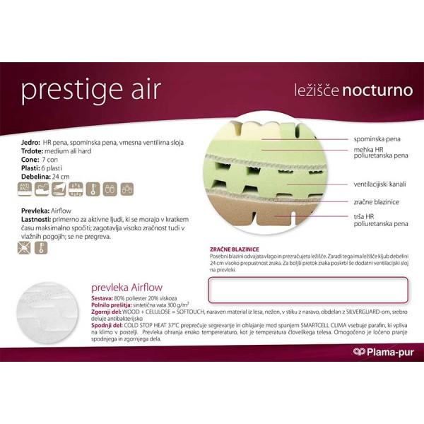 Lastnosti ležišča Prestige Air