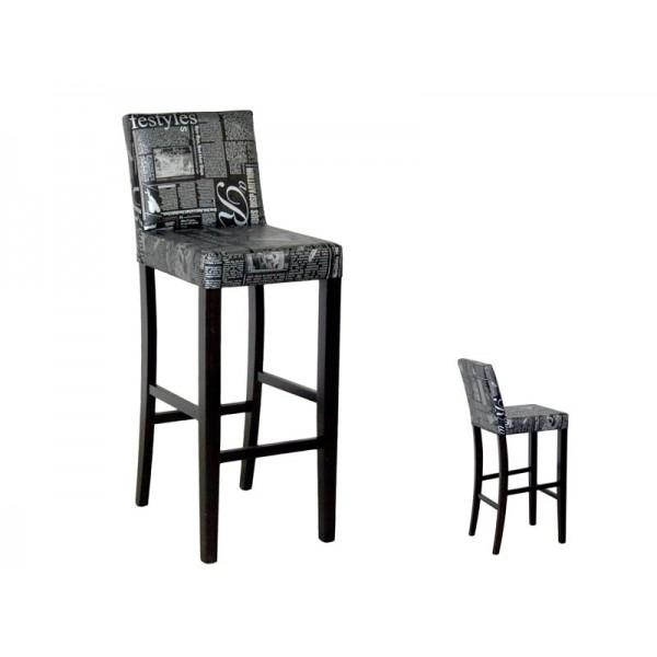 Barski stol MILANO (wenge)
