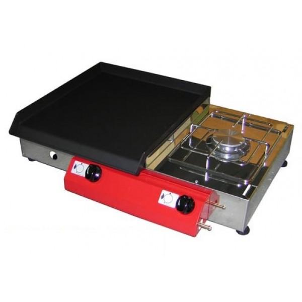 Namizni plinski žar Gorenc, 65 x 40, kuhalnik, Fe plošča