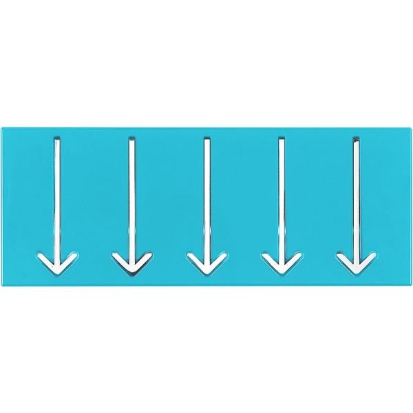 Obešalnik ARROW 5 - modra