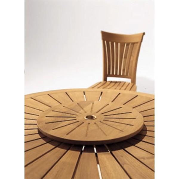 Okrogla vrtna miza Eclypse: detajl