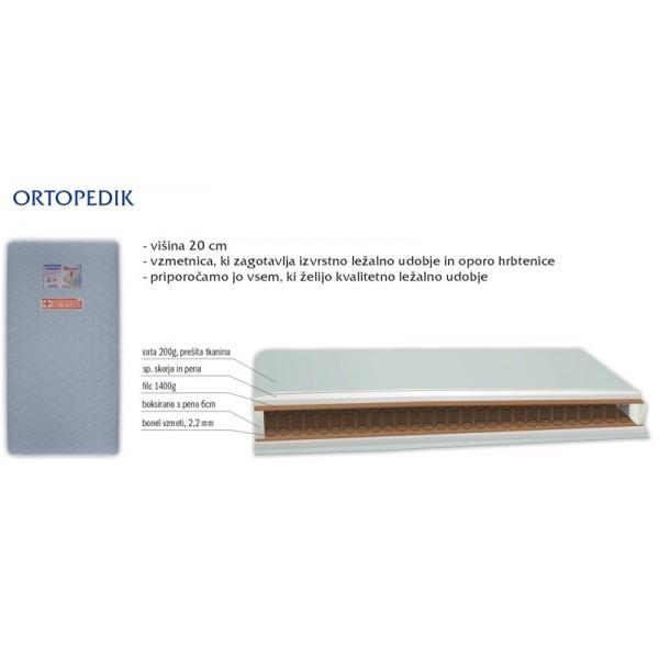BOX Vzmetnica ORTOPEDIK sestava