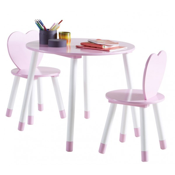 Otroška mizica s stolčki Princess