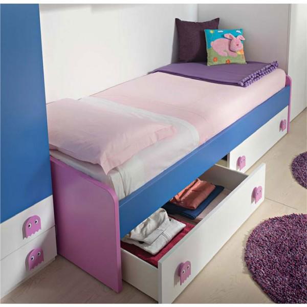 Otroška postelja Basso: primer konfiguracije