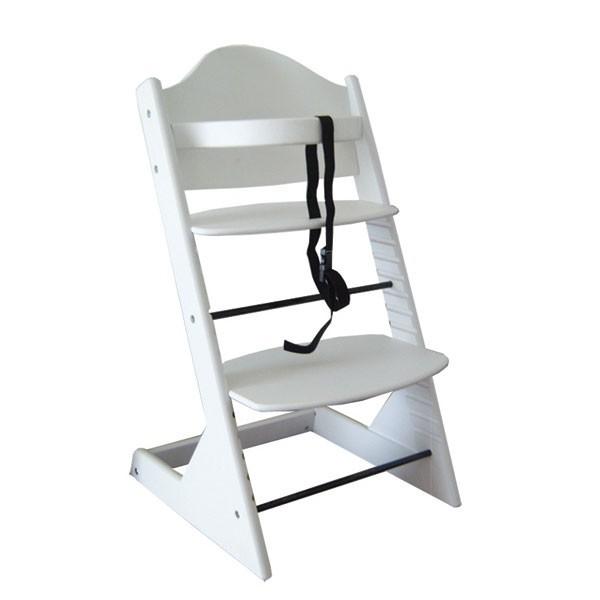 Otroški stolček za hranjenje SIGMA (bela)