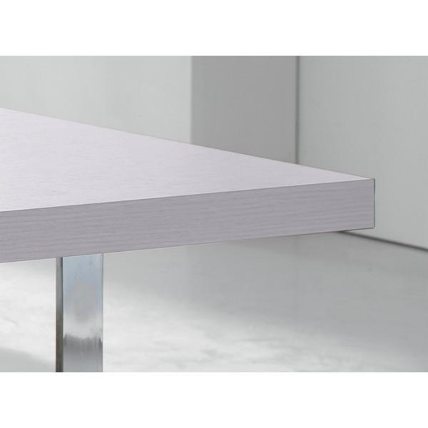 Čajna miza aluminij