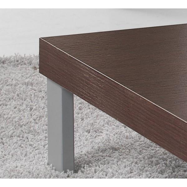 Klubska miza kvadratna detajl