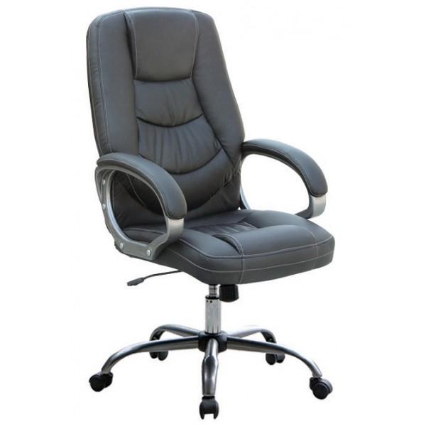 Pisarniški stol PS031 (EKO usnje črne barve)