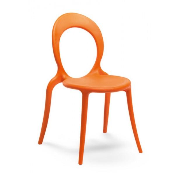 Stol Holly: oranžna