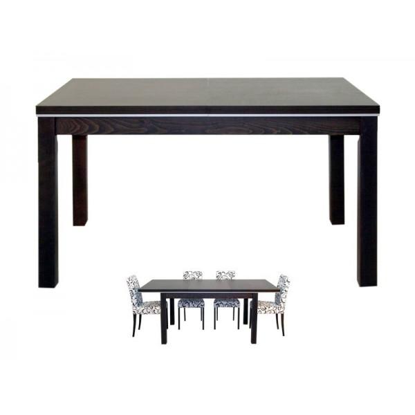Jedilna miza PORTO - 140 cm (wenge)