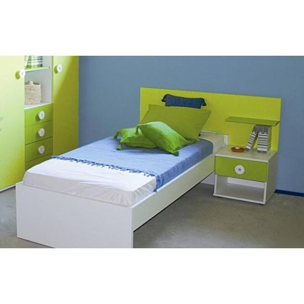 Otroška postelja z nočno omarico 90x200