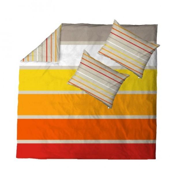 Posteljnina Midi&Maxi Oranžna dvojna