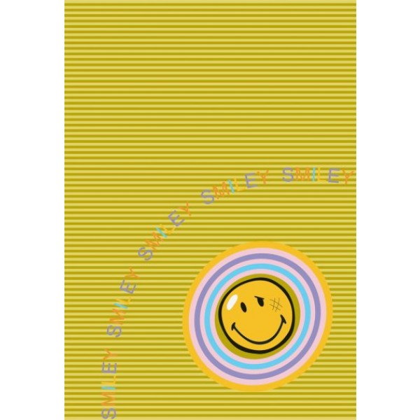 Preproga SITAP Smiley 8902 Gold (dimenzije: 100x150 in 140x200)