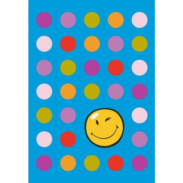 Preproga SITAP Smiley 8904 Blue (dimenzije: 100x150 in 140x200)