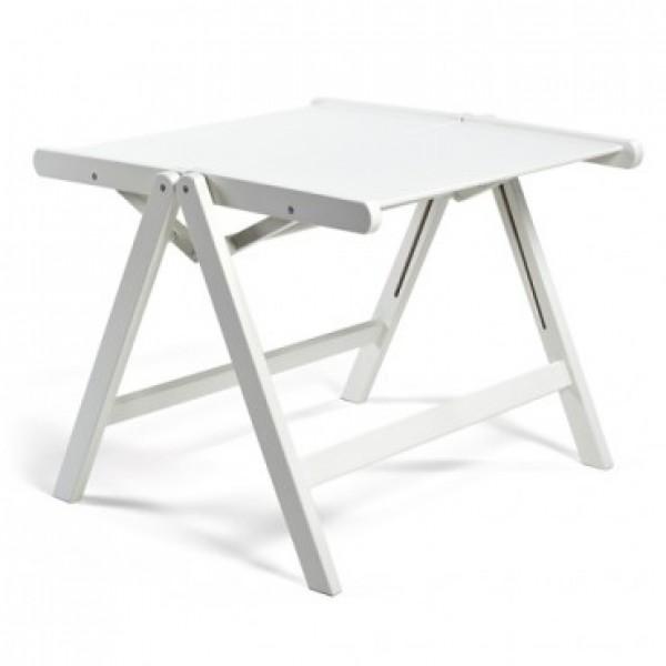 REX miza (vec barv) Bela