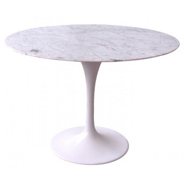 Okrogla miza z marmorno ploščo RT335/R