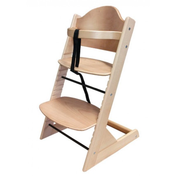 Otroški stolček za hranjenje SIGMA (natur)