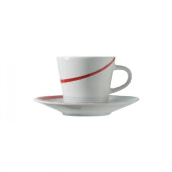 Skodelice za kavo Graphix (6x skodelica in krožnik)