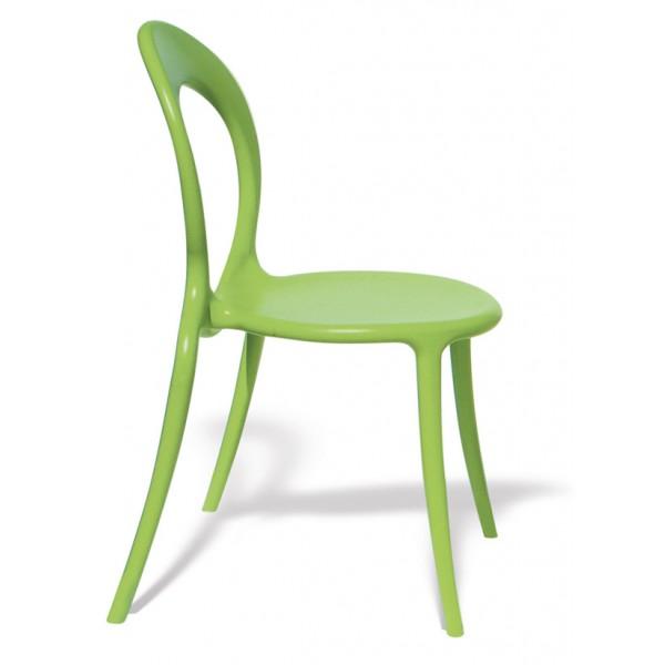 Stol Holly: zelena
