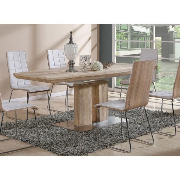 Stol za jedilnico Infinity (dve barvi)-Bela
