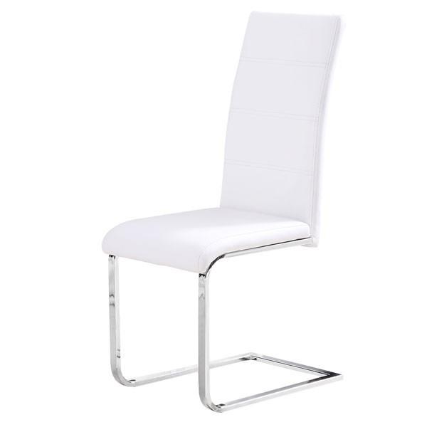 Jedilni stol JOSEF (bel) - RAZPRODAJA