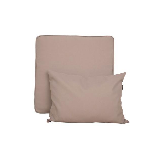Vrtna garnitura TAHITI 4-delna - več barv-Rjava-Svetlo siva