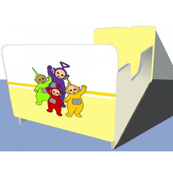 Otroška posteljica TELEBAJSKI (rumena)