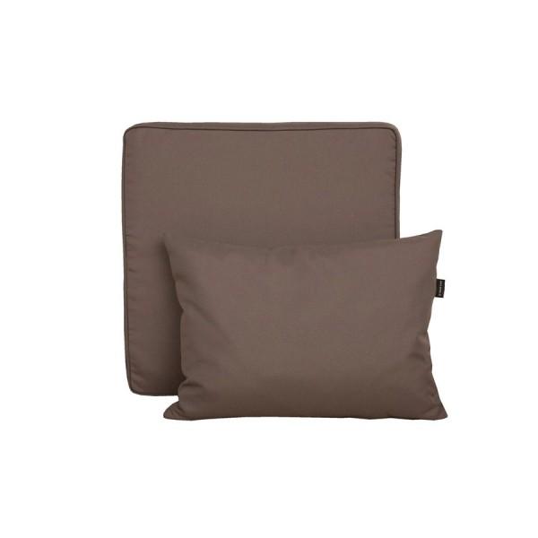 Vrtna garnitura TAHITI-postelja - več barv-Rjava-Temno siva
