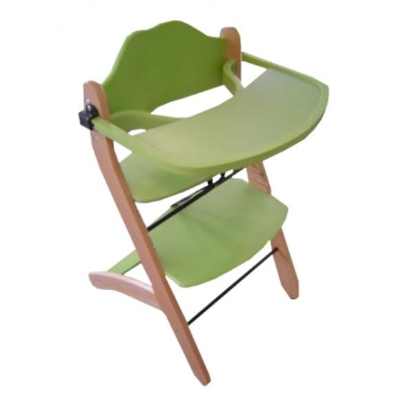 Otroški stolček za hranjenje YAMI s snemljivim pladnjem