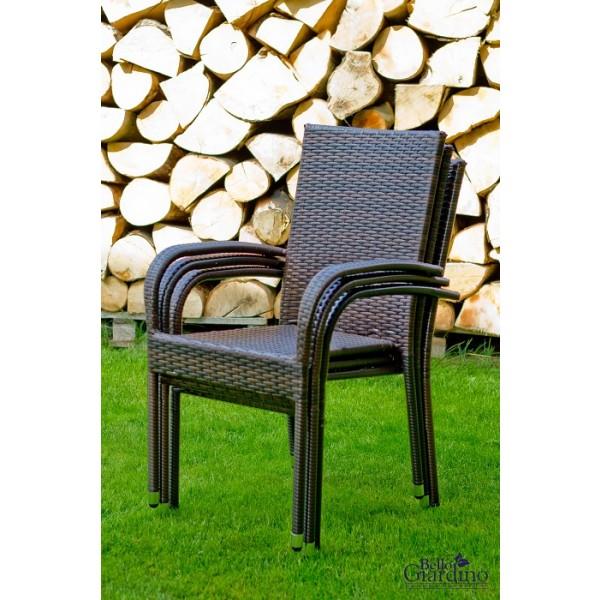 Vrtna garnitura Eccellente - stoli