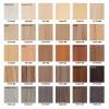 Kovinska postelja AMIDA G4 - Barve lesa
