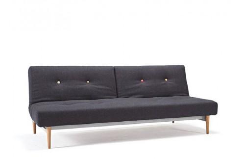 Kavč FIFTYNINE SOFA BED s svetlo stileto lesenimi nogicami