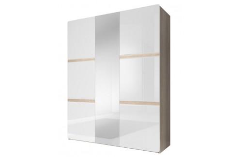 3-delna garderobna omara Selene (svetla) 19