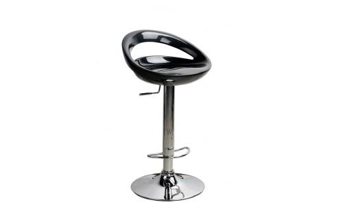 Barski stol BIBI - črn