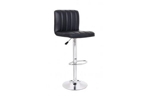 Barski stol Hot: črna
