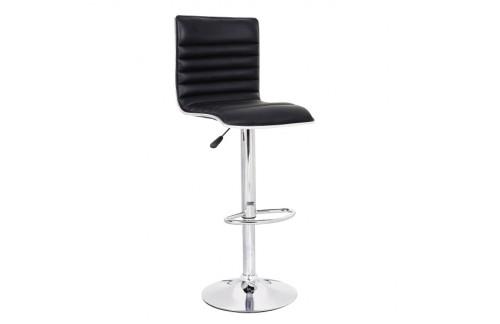 Barski stol LINE II, črna - EKSPONAT