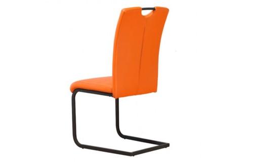 Jedilni stol Paolo-Oranžna - EKSPONAT