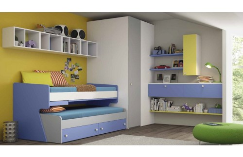Otroška soba Colombini Volo C107