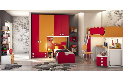 Otroška soba Colombini Volo C115