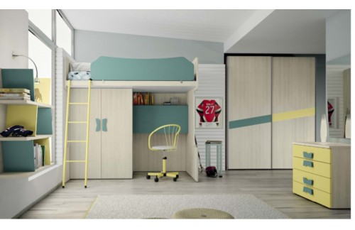Otroška soba COLOMBINI Eresem C16