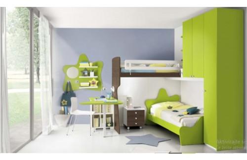 Otroška soba COLOMBINI Eresem C38