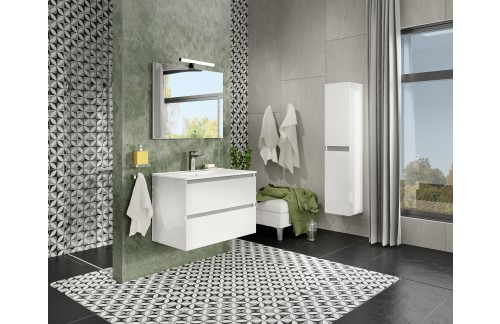 Omarica z umivalnikom 80 cm CLOUD ZADNJI KOS