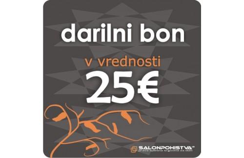Darilni bon SalonPohistva.si 25€